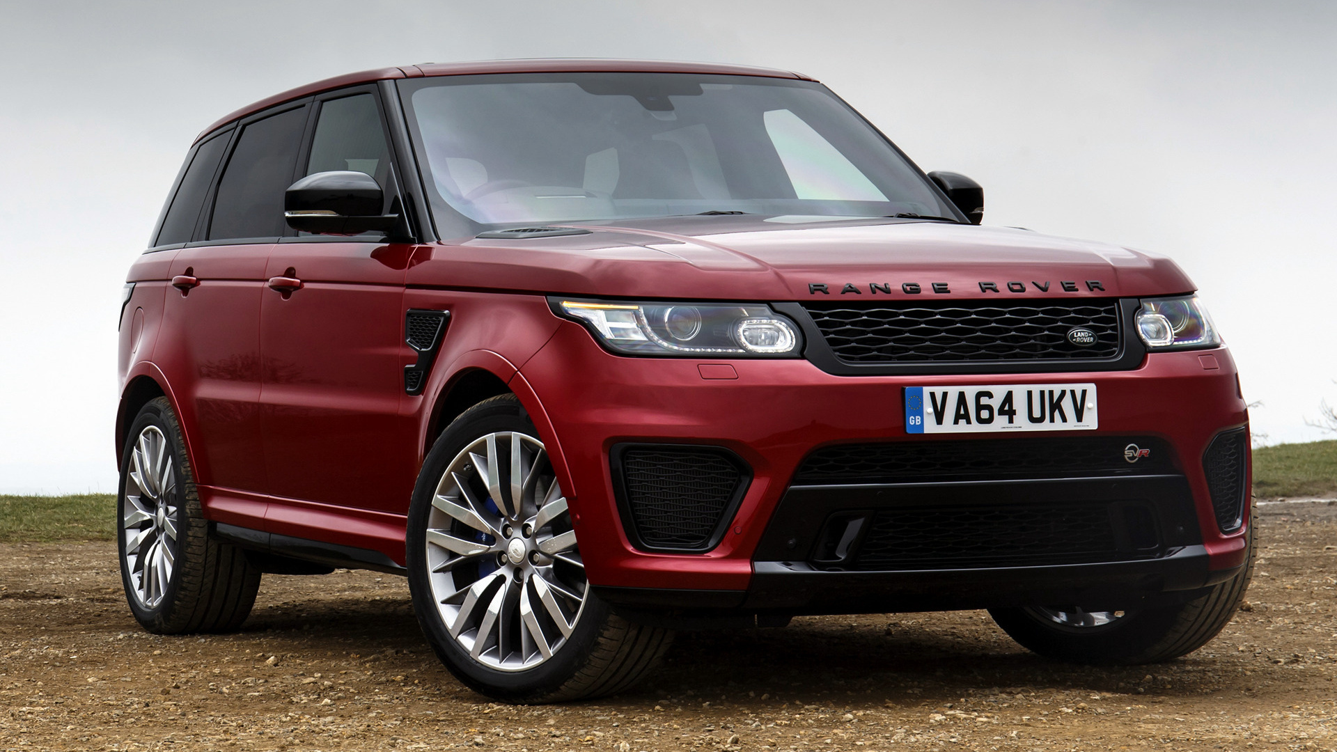 Range Rover Sport SVR (2015) UK Wallpapers And HD Images