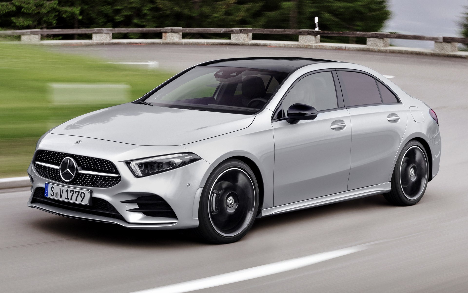 2018 Mercedes-Benz A-Class Sedan AMG Line - Wallpapers and ...