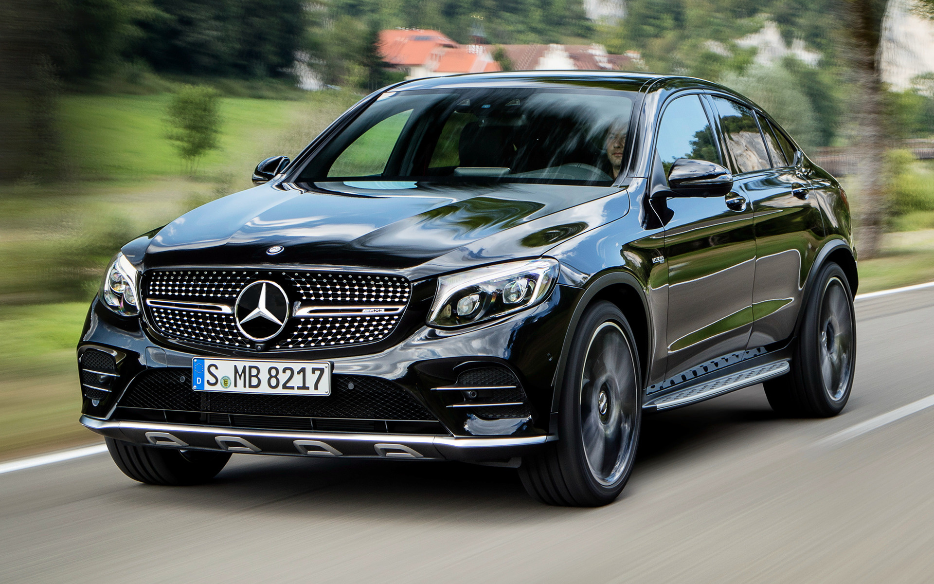 mercedes amg glc 43 coupe 2016 wallpapers and hd images car pixel. Black Bedroom Furniture Sets. Home Design Ideas