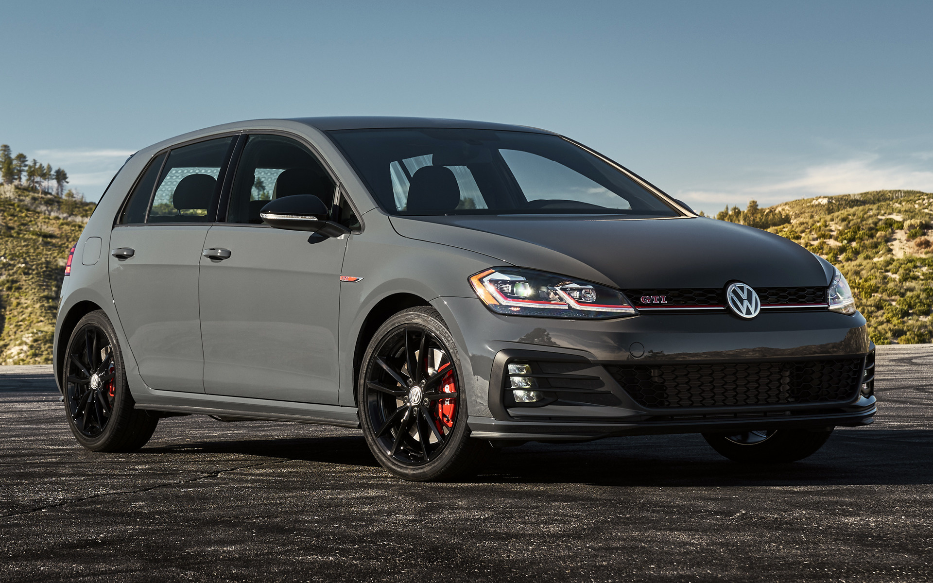 2019 Volkswagen Golf Gti Rabbit 5 Door Us Wallpapers