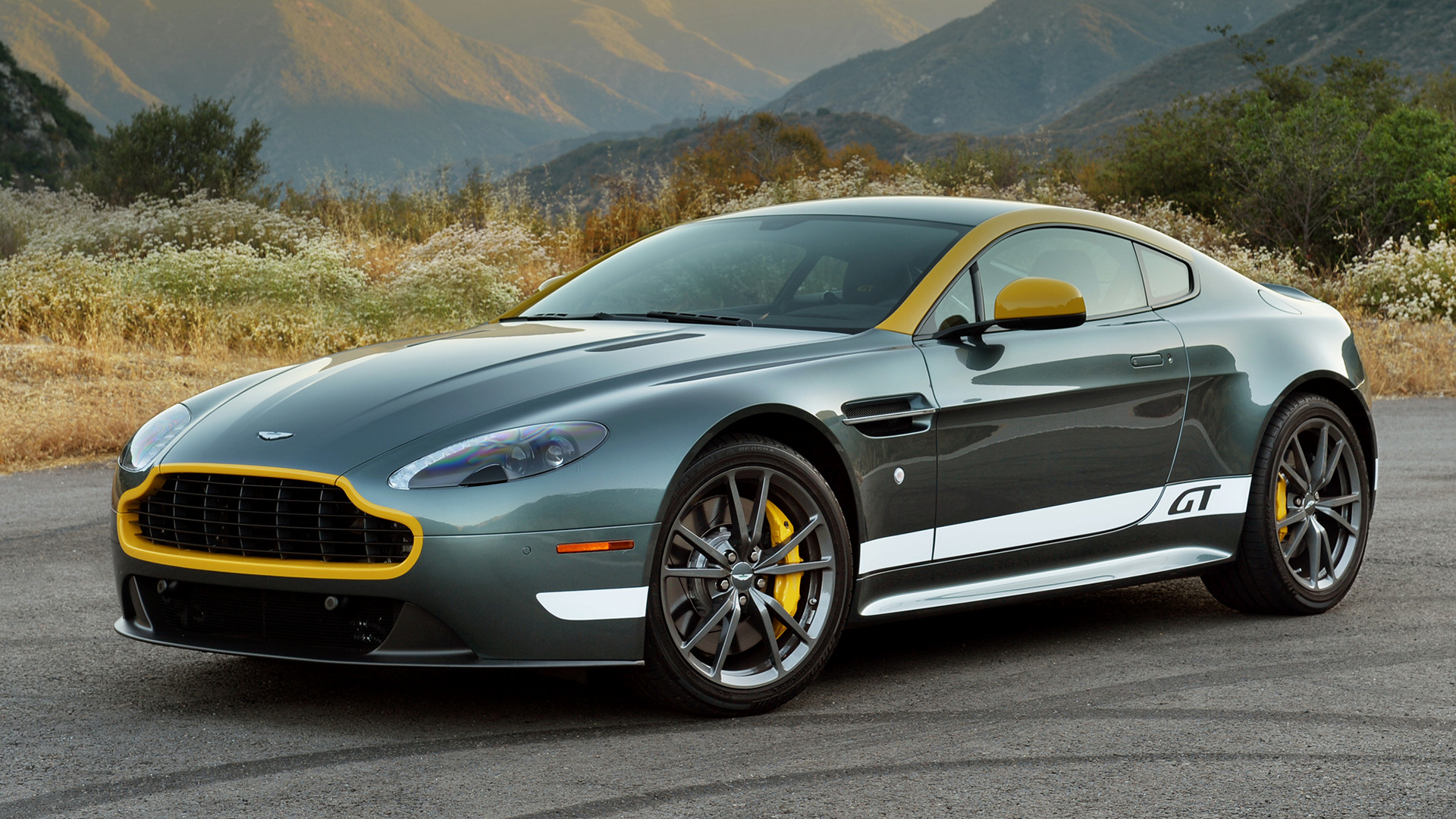 Aston Martin V8 Vantage Gt 2014 Us Wallpapers And Hd