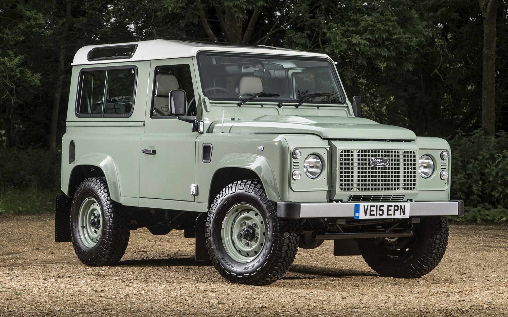 Jeep Suv 2015 >> 2015 Land Rover Defender 90 Heritage (UK) - Wallpapers and ...