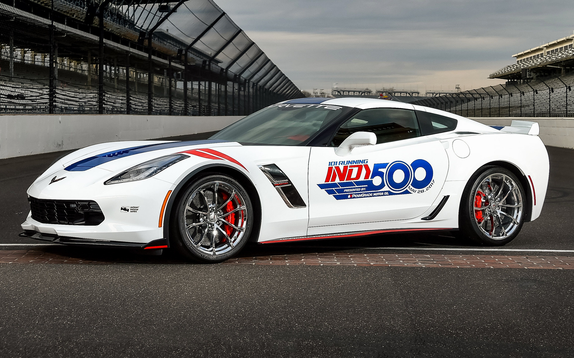 2018 Corvette Grand Sport >> 2017 Chevrolet Corvette Grand Sport Indy 500 Pace Car - Wallpapers and HD Images | Car Pixel