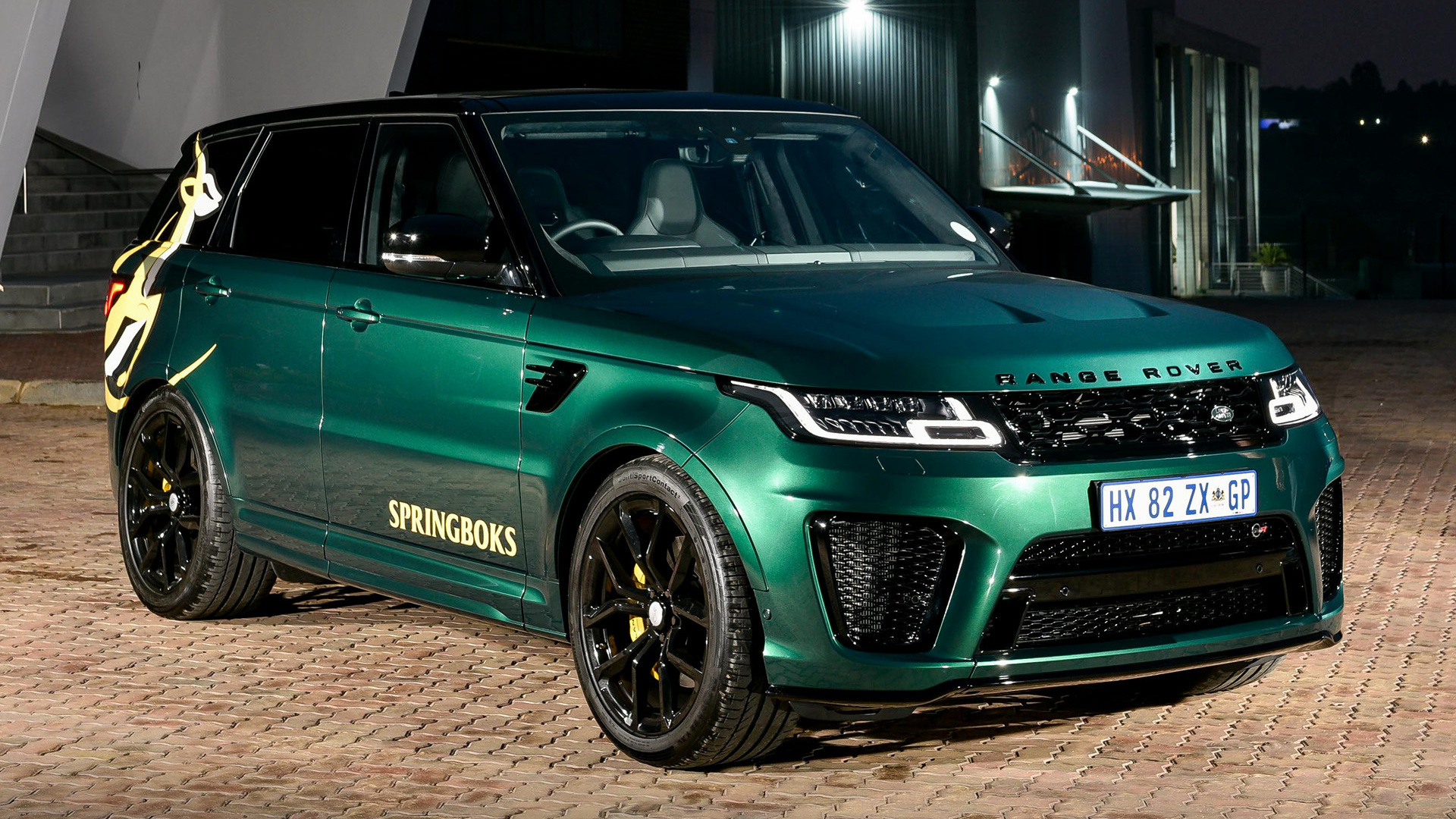 Green Buick Gmc >> 2019 Range Rover Sport SVR Springboks Edition by SVO (ZA) - Wallpapers and HD Images   Car Pixel