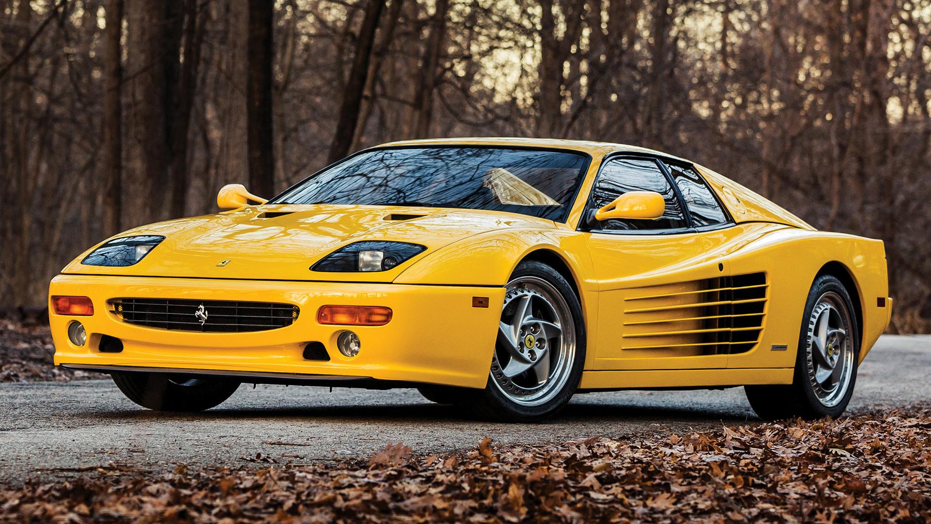 1995 Ferrari F512 M Us Hintergrundbilder Und Wallpaper In Hd Car Pixel