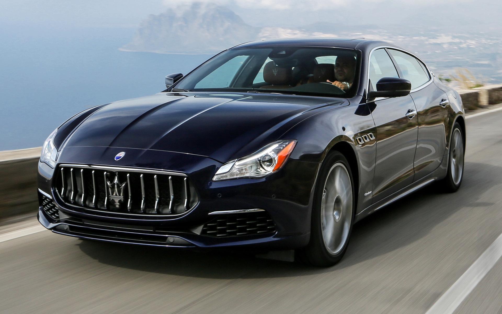 Maserati Quattroporte GTS GranLusso (2016) Wallpapers and ...
