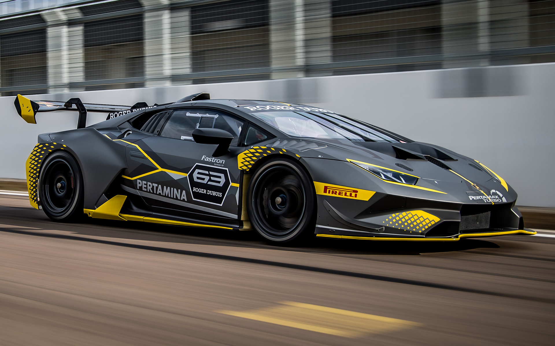 2018 Lamborghini Huracan Super Trofeo Evo Wallpapers And