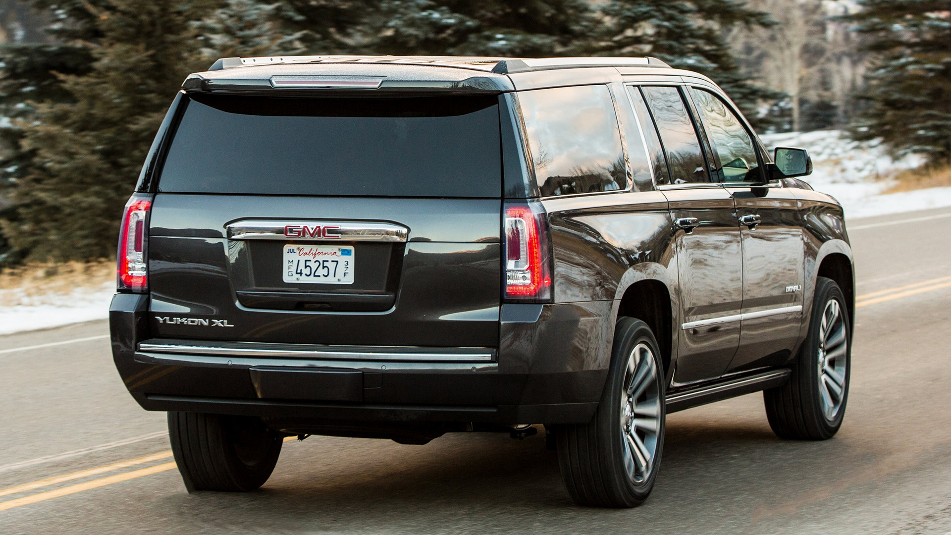 gmc yukon xl denali 2018 wallpapers and hd images car. Black Bedroom Furniture Sets. Home Design Ideas