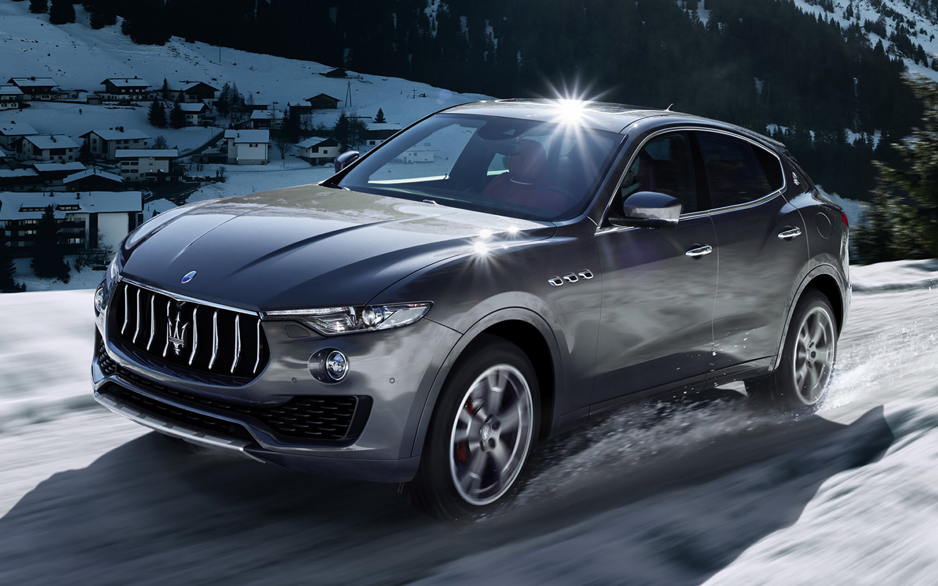 2016 Dodge Ram >> 2016 Maserati Levante - Wallpapers and HD Images | Car Pixel