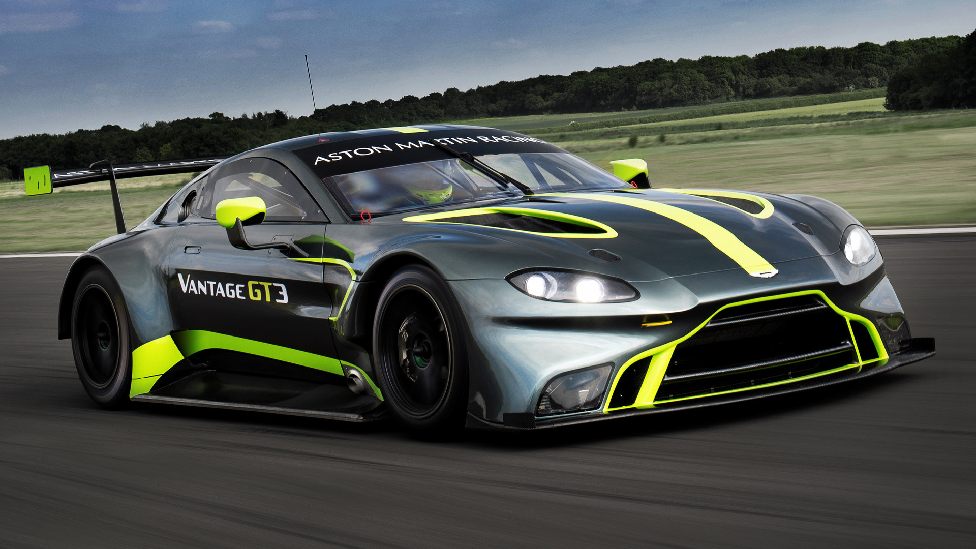 2018 Aston Martin Vantage Gt3 Wallpapers And Hd Images Car Pixel