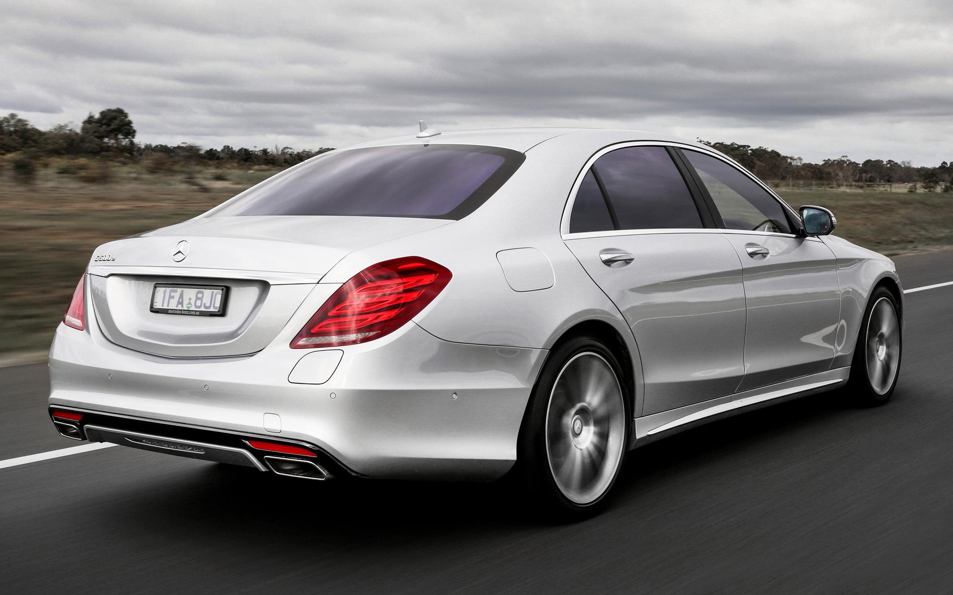 Mercedes benz s class plug in hybrid amg line long 2014 for Mercedes benz sedan line