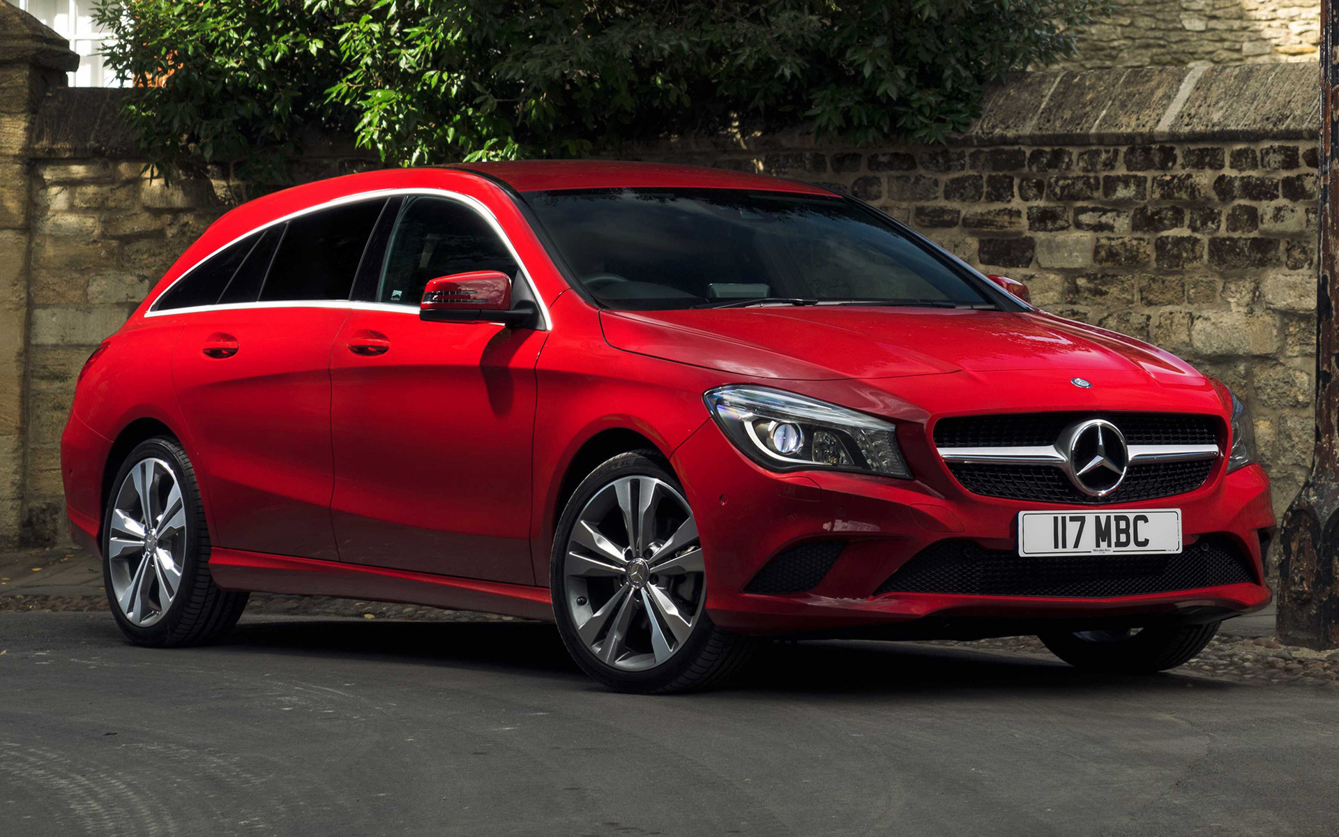 mercedes benz cla class shooting brake 2015 uk wallpapers and hd images car pixel. Black Bedroom Furniture Sets. Home Design Ideas