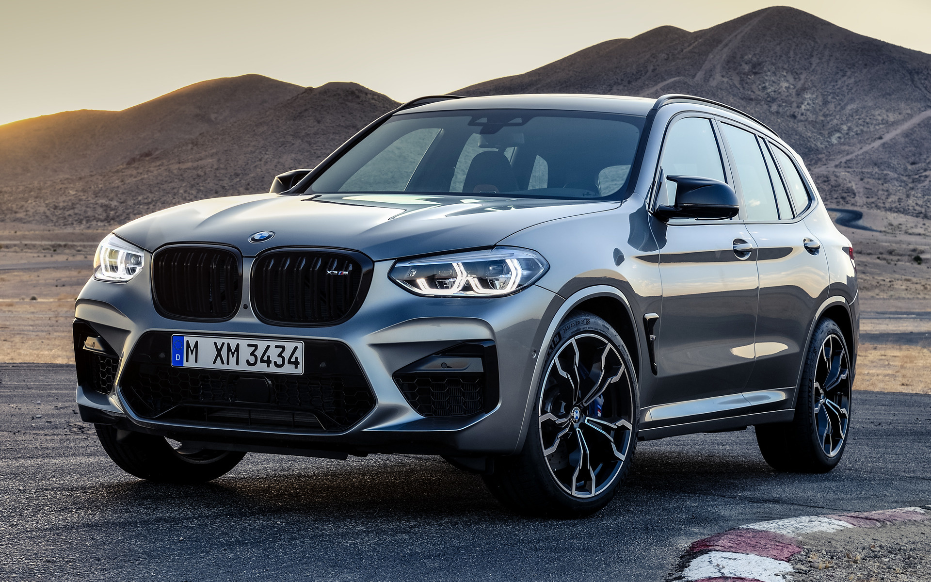 2019 Bmw X3 M Competition Wallpapers And Hd Images Car Pixel