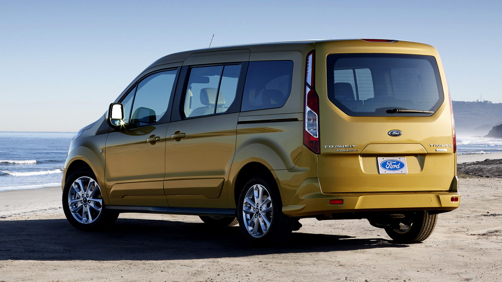 Ford Transit Wagon >> Ford Transit Connect Wagon LWB (2013) US Wallpapers and HD ...