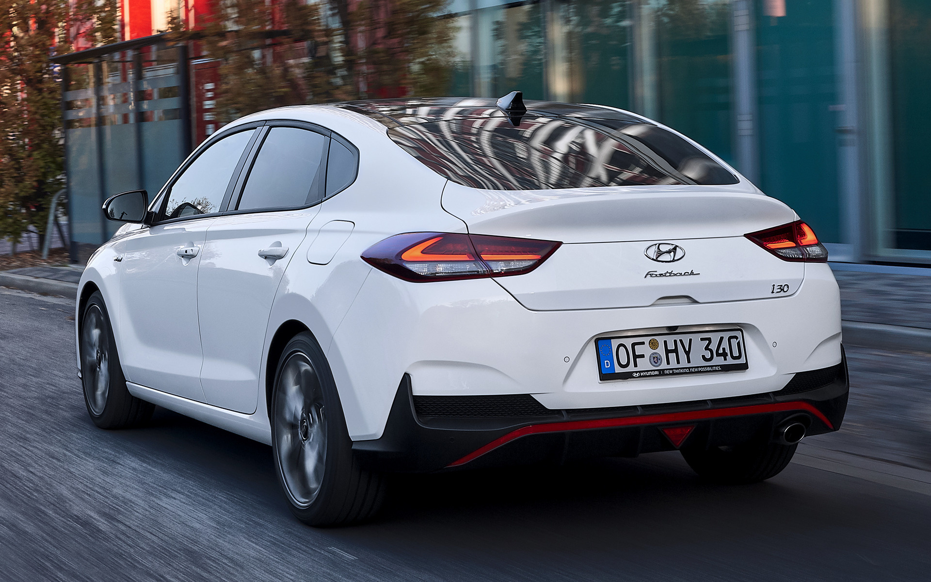 All Car Brands >> 2018 Hyundai i30 Fastback N Line - Wallpapers and HD Images | Car Pixel