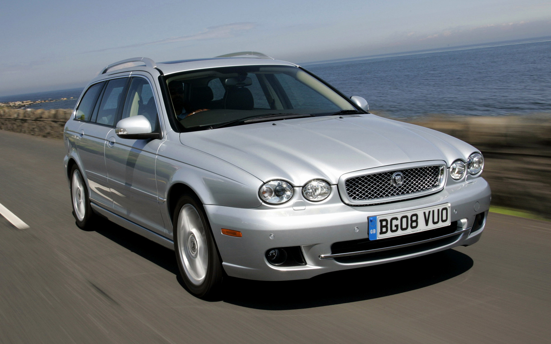 jaguar x type estate 2007 uk wallpapers and hd images. Black Bedroom Furniture Sets. Home Design Ideas