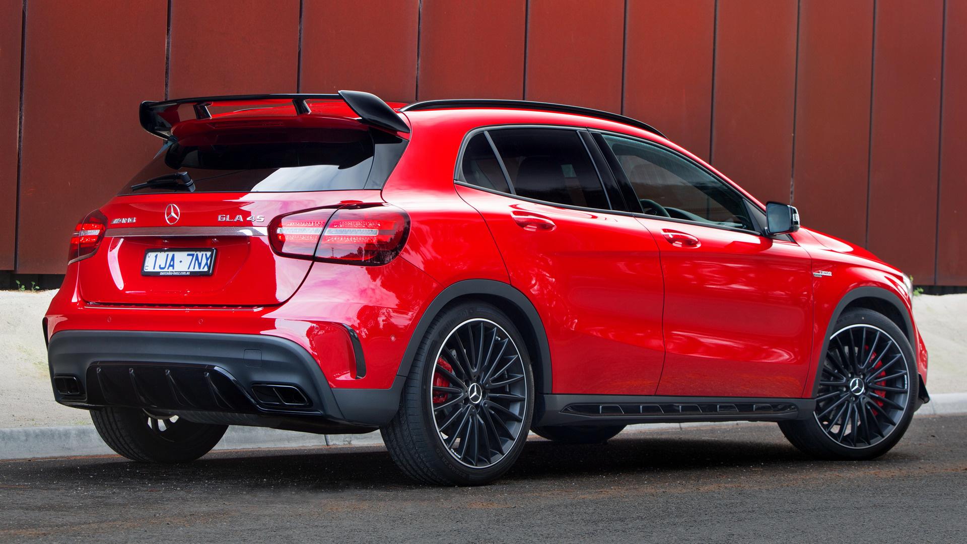 2017 Mercedes Amg Gla 45 Aerodynamics Package Au