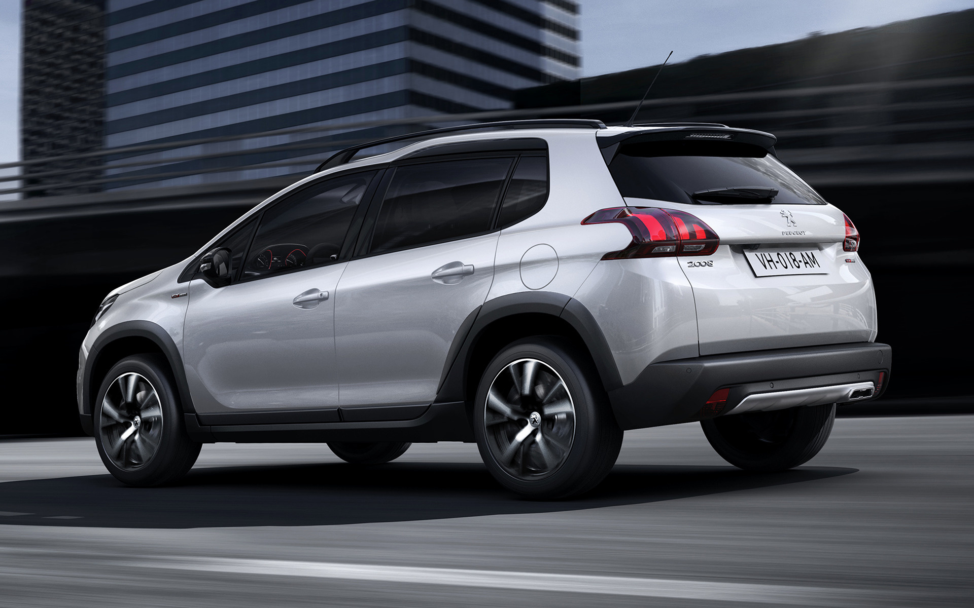 Peugeot 2008 GT Line (2016) Wallpapers and HD Images - Car ...