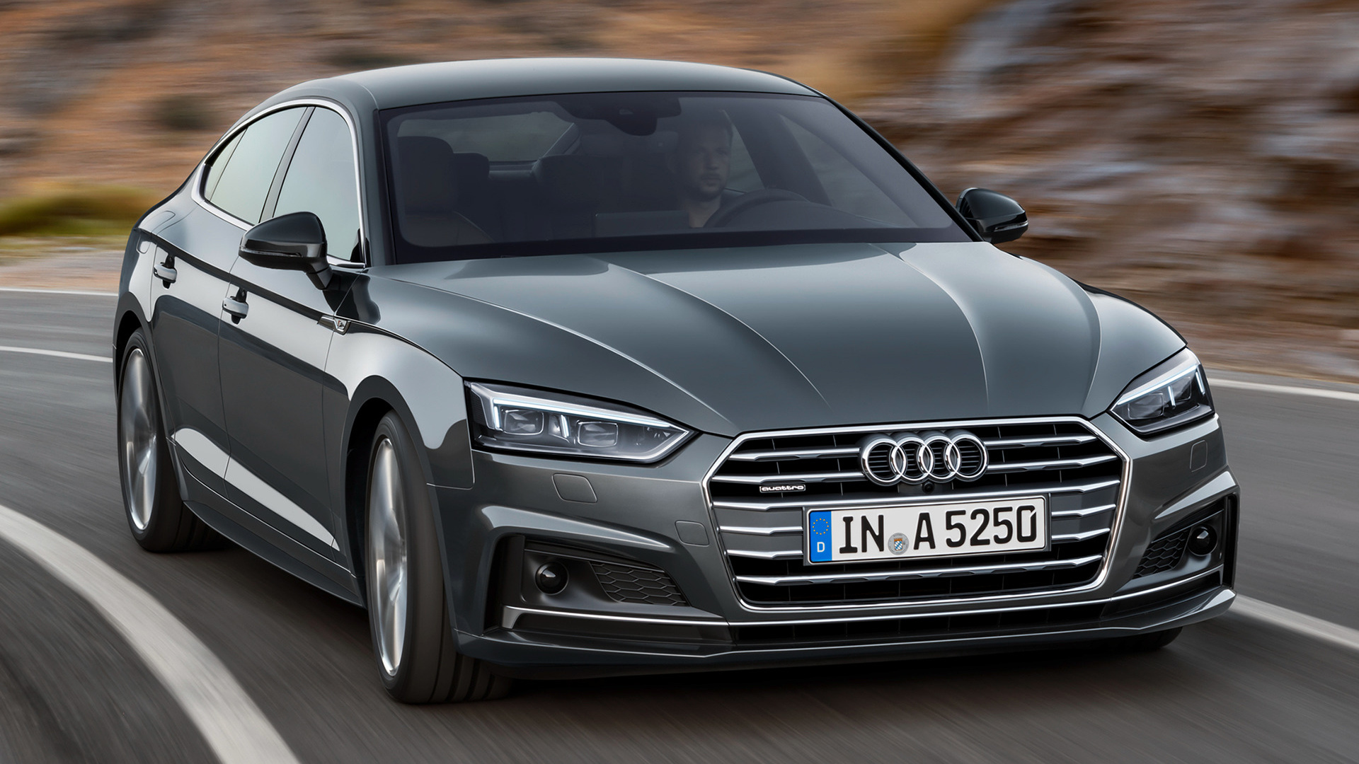 audi a5 sportback s line 2016 wallpapers and hd images car pixel. Black Bedroom Furniture Sets. Home Design Ideas