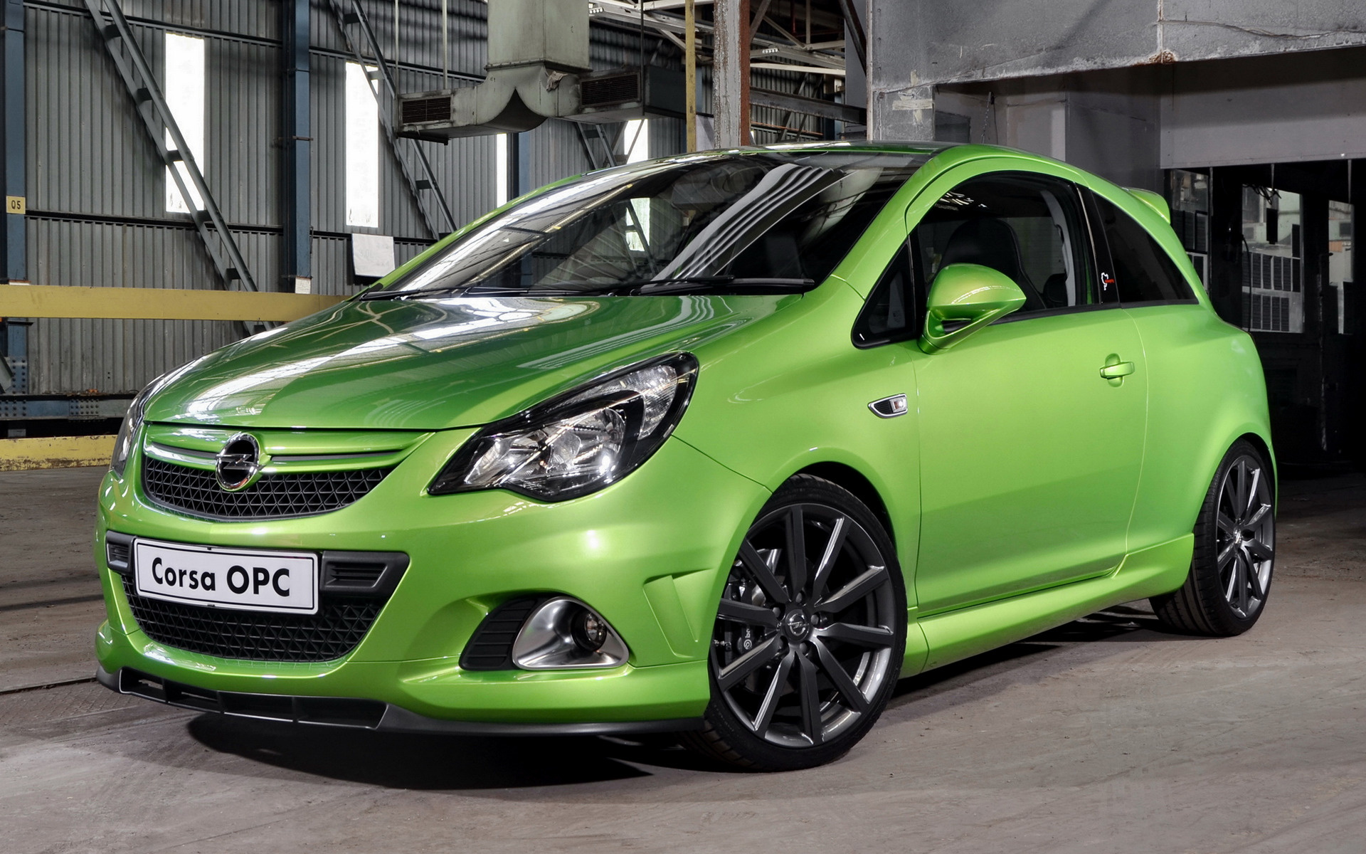 2012 Opel Corsa Opc Nurburgring Edition 3 Door Za Wallpapers