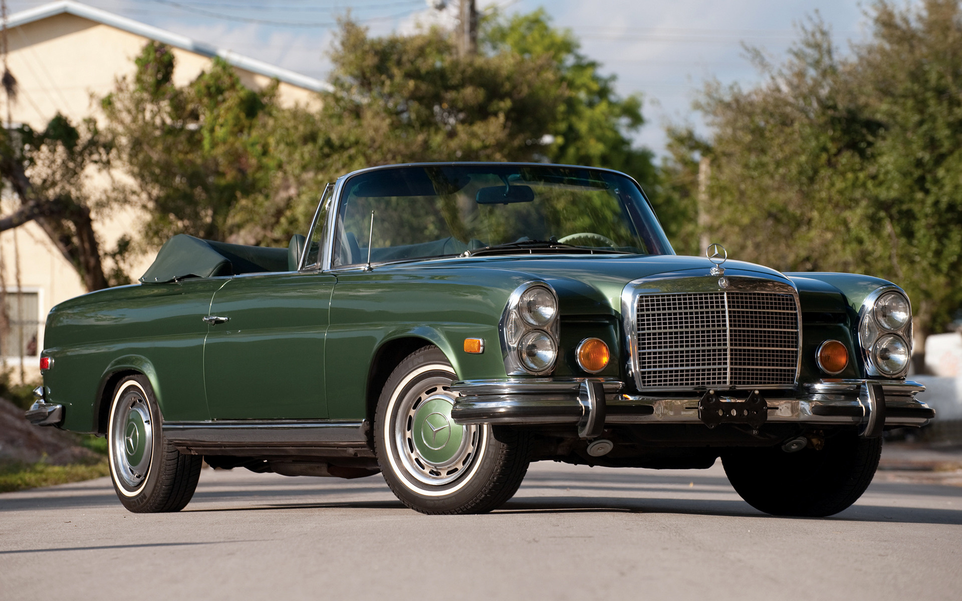 Mercedes benz 280 se cabriolet 1969 us wallpapers and hd for 1969 mercedes benz 280 se convertible