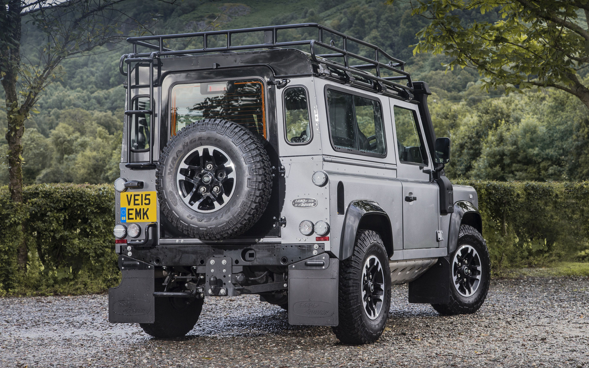 Adventure Car: Land Rover Defender 90 Adventure (2015) UK Wallpapers And