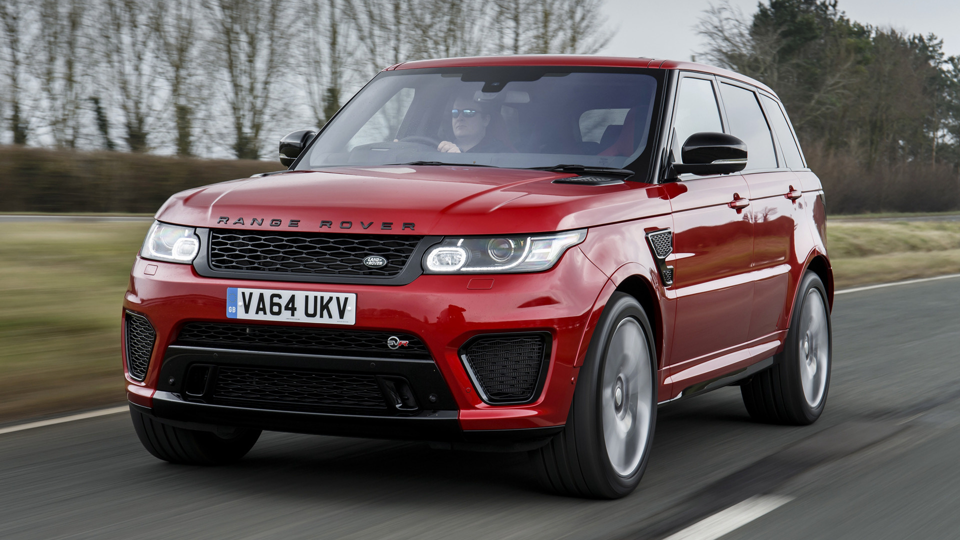 Range Rover Sport Svr 2015 Uk Wallpapers And Hd Images
