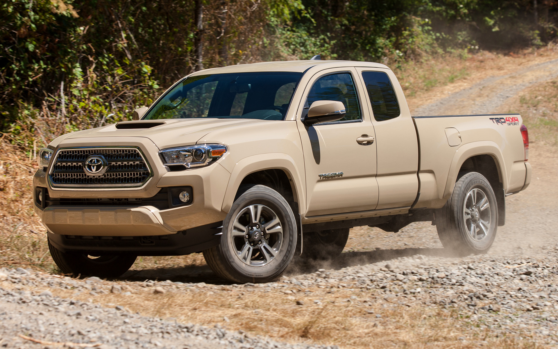toyota tacoma trd sport access cab  wallpapers  hd images car pixel