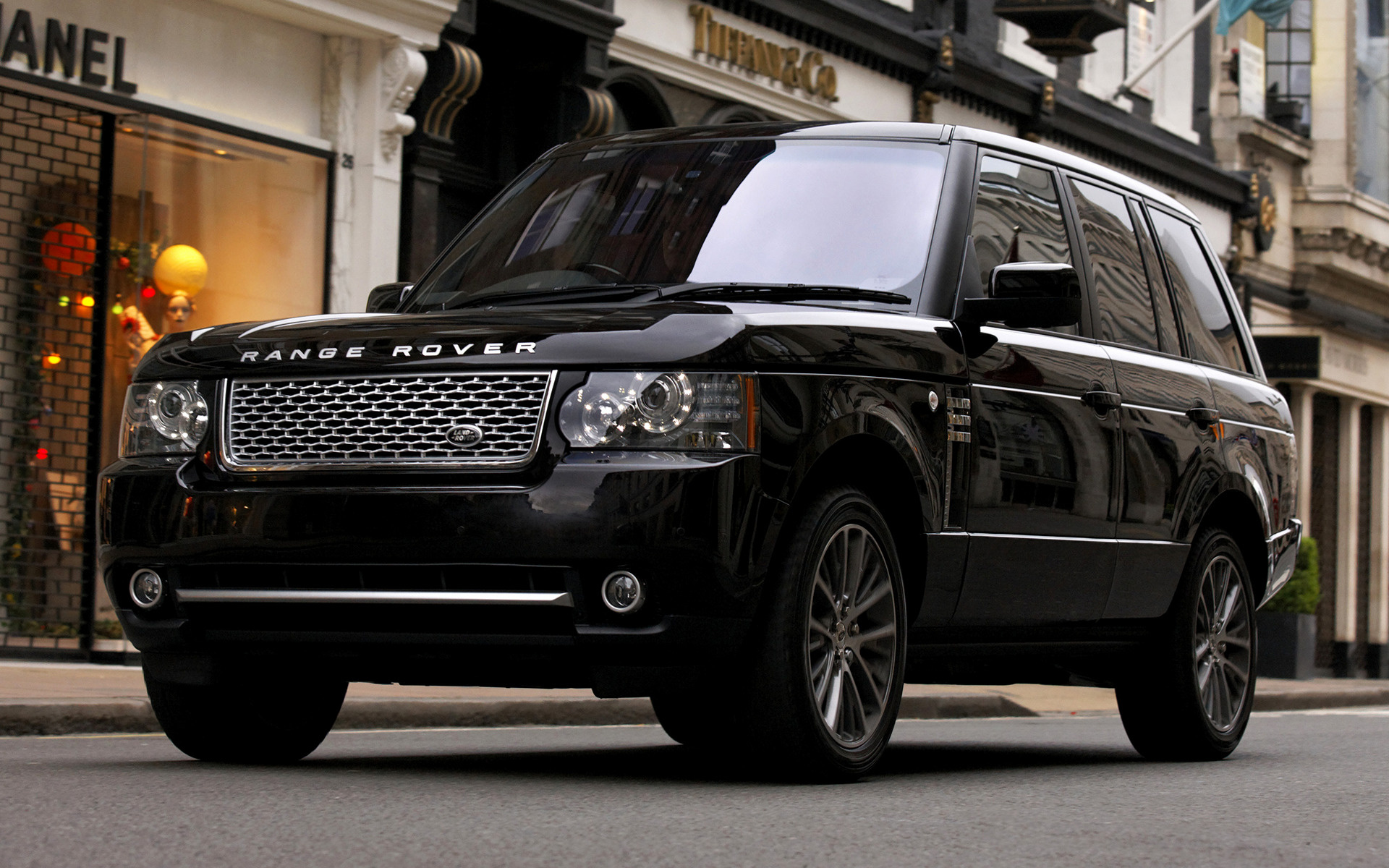 range rover autobiography black 2010 uk wallpapers and hd images car pixel. Black Bedroom Furniture Sets. Home Design Ideas