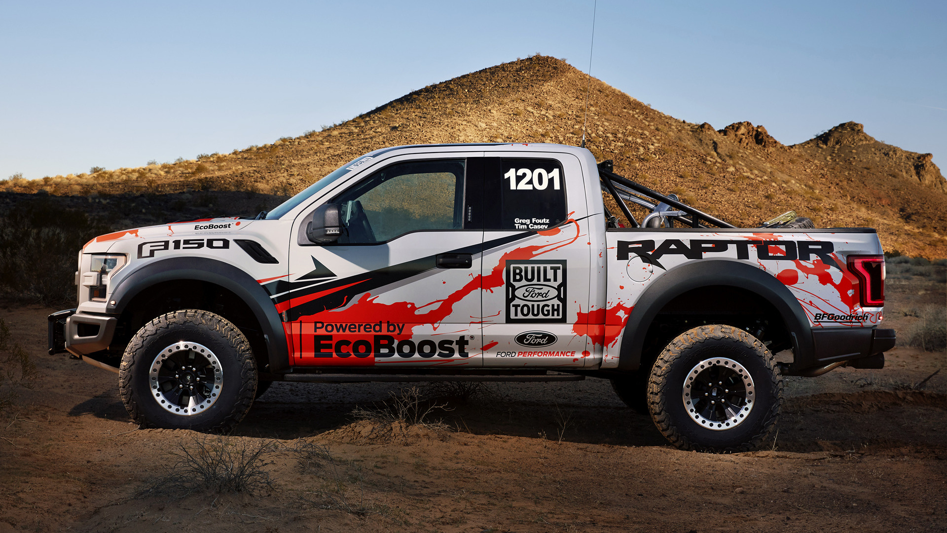 Ford F150 King Ranch >> 2017 Ford F-150 Raptor Race Truck - Wallpapers and HD Images | Car Pixel