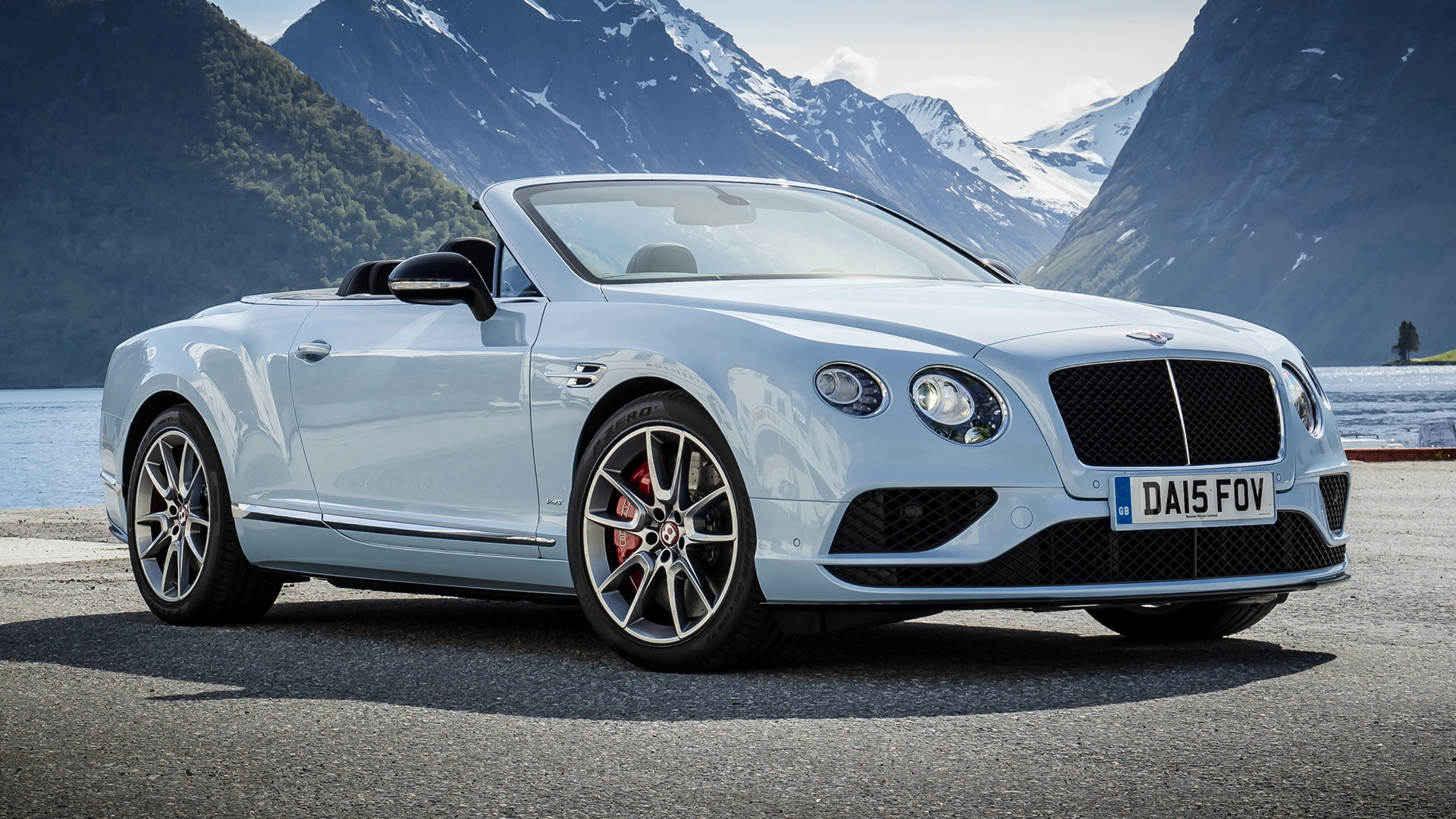 Bentley Continental GT V8 S Convertible 2015 Wallpapers and HD