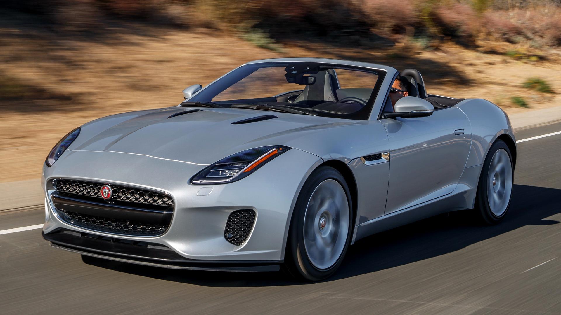 Jaguar F Type Coupe >> 2018 Jaguar F-Type Convertible (US) - Wallpapers and HD ...
